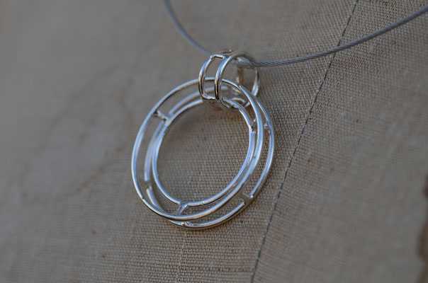 Necklace #4 .                      Material : silver 925 / Size : 30mm × 30mm