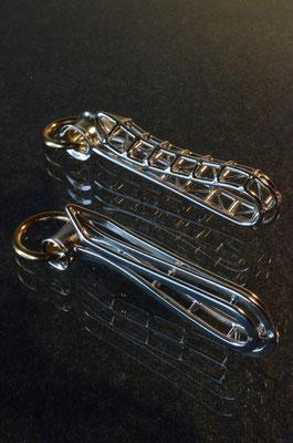 Key Hook #1.2 .              Material : silver 925 . brass / Size : 105mm × 27mm