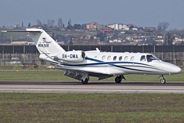 9A-DWA Ce525A (CJ2+) 525A-0412 Winair