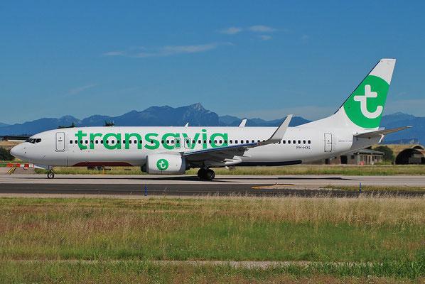 PH-HXL B737-800 62162/6878 Transavia Airlines @ Aeroporto di Verona 25.06.2018  © Piti Spotter Club Verona