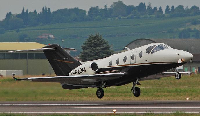 G-FXDM Beech 400XT RK-377 Flexjet Ltd.