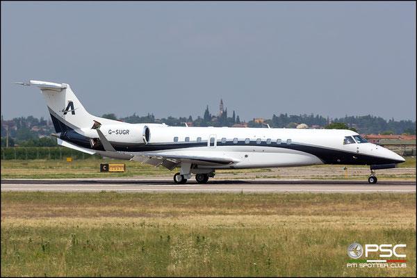 G-SUGR ERJ135BJ 14501199 Air Charter Scotland @ Aeroporto di Verona 14.07.2018  © Piti Spotter Club Verona