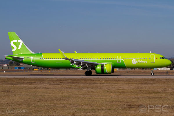 VQ-BDU A321-271N 8088 S7 Airlines