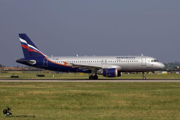 VP-BME A320-214 3699 Aeroflot @ Aeroporto di Verona 28.07.2018  © Piti Spotter Club Verona