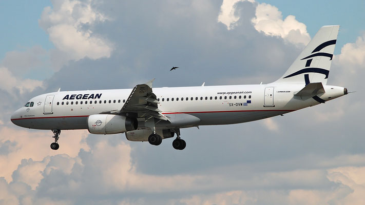 SX-DVW A320-232 3785 Aegean Airlines
