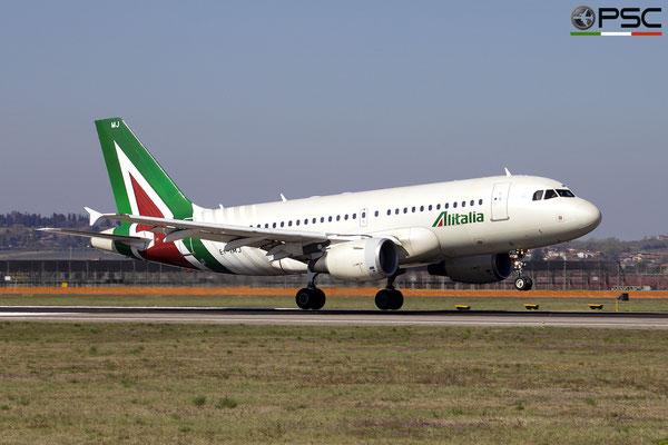 EI-IMJ A319-112 1779 Alitalia