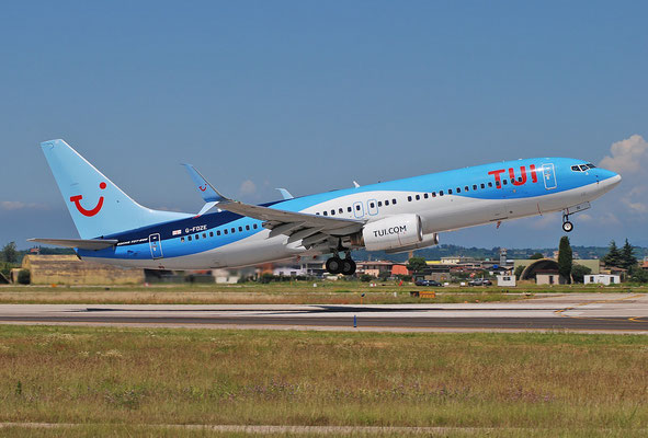 G-FDZE B737-8K5 35137/2482 TUI Airways @ Aeroporto di Verona 25.06.2018  © Piti Spotter Club Verona