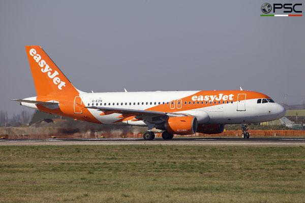 G-EZIX A319-111 2605 easyJet