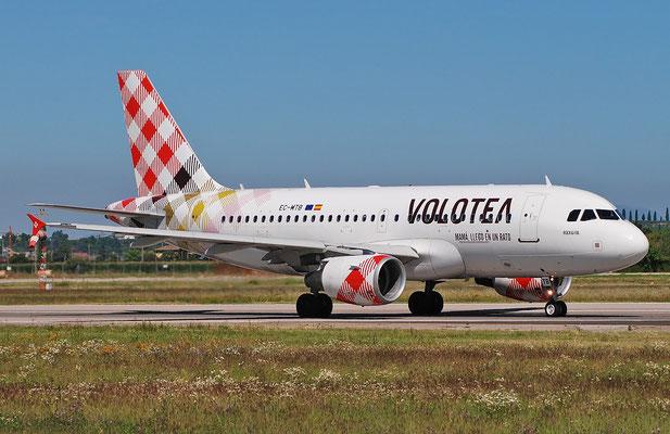 EC-MTB A319-111 1684 Volotea Air @ Aeroporto di Verona 25.06.2018  © Piti Spotter Club Verona