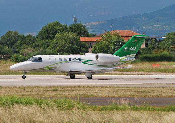 OE-GCZ Ce525C (CJ4) 525C-0268 Avcon Jet @ Aeroporto di Verona 25.06.2018  © Piti Spotter Club Verona