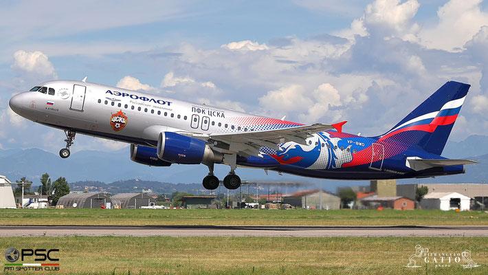 VP-BWD A320-214 2116 Aeroflot @ Aeroporto di Verona 22.07.2018  © Piti Spotter Club Verona
