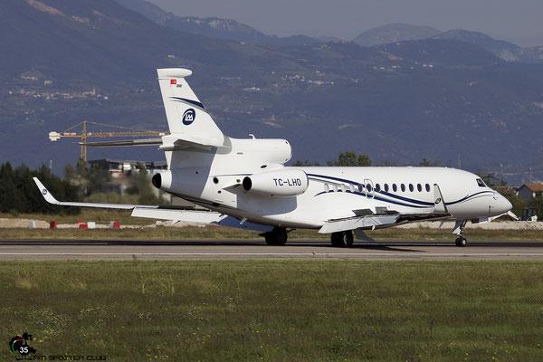 TC-LHO Falcon 7X 260 Limak Air