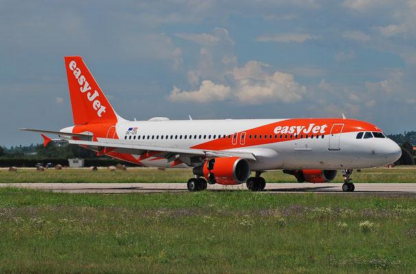 OE-IZS A320-214 3945 easyJet Europe @ Aeroporto di Verona 25.06.2018  © Piti Spotter Club Verona