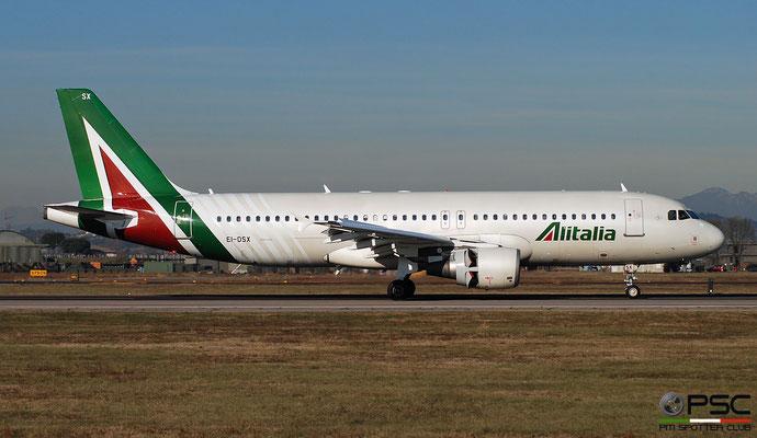 EI-DSX A320-216 3643 Alitalia