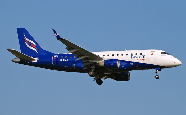 G-CIXV ERJ170LR 17000111 Eastern Airways