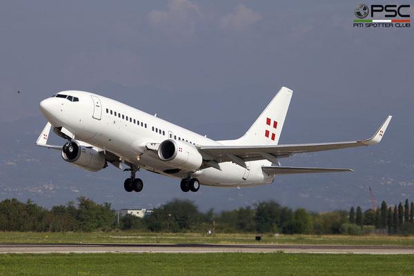 D-AWBC B737-7AK (BBJ1) 34303/1758 PrivatAir Germany