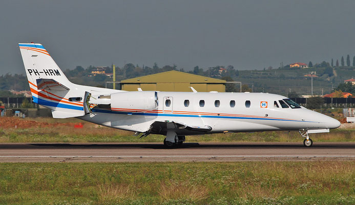 PH-HRM Ce560XLS+ 560-6097 Heerema Vliegbedrijf BV © Piti Spotter Club Verona