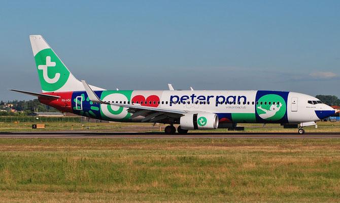 PH-HSI B737-8K2 42148/4404 Transavia Airlines @ Aeroporto di Verona 23.07.2018  © Piti Spotter Club Verona