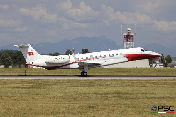 HB-JFL ERJ135BJ 14501057 Nomad Aviation @ Aeroporto di Verona 18.08.2018  © Piti Spotter Club Verona