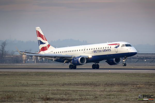G-LCYR ERJ190SR 19000563 British Airways