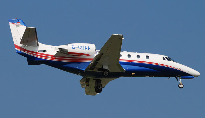 D-CGAA Ce560XLS+ 560-6173 Air Hamburg Private Jets