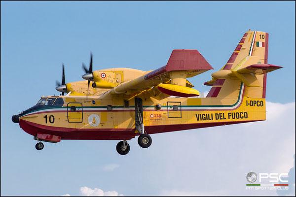 I-DPCO 10 CL-415 2009 INAER Aviation @ Aeroporto di Verona 18.08.2018  © Piti Spotter Club Verona
