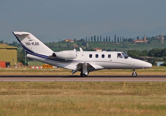 HA-KAR Ce525 525-0016 @ Aeroporto di Verona 07.2018  © Piti Spotter Club Verona