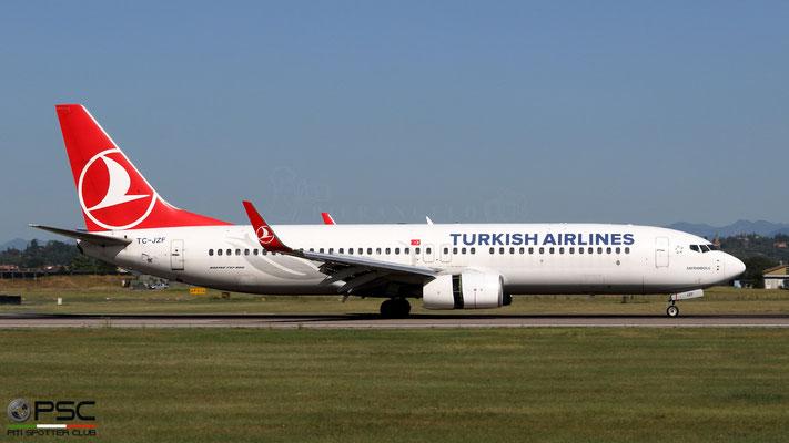 TC-JZF  B737-8F2  60027/6031  Turkish Airlines - THY Türk Hava Yollari