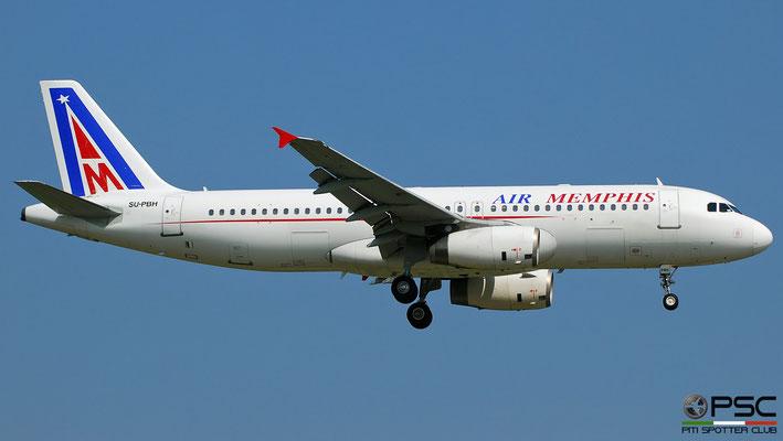 SU-PBH A320-233 1300 Air Memphis (foto del 2010)