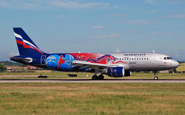 VP-BWE A320-214 2133 Aeroflot @ Aeroporto di Verona 23.07.2018  © Piti Spotter Club Verona