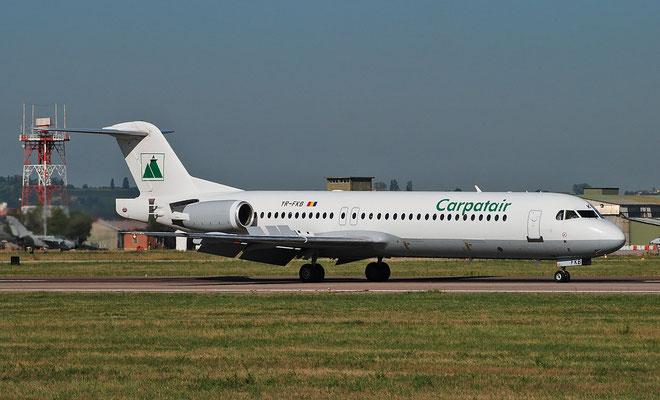 YR-FKB Fokker 100 11369 Carpatair