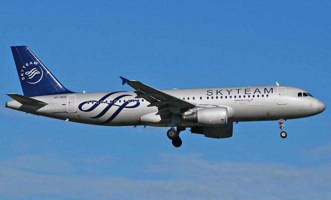 VP-BDK A320-214 2106 Aeroflot