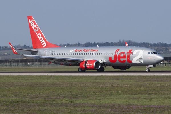 G-GDFR B737-8Z9 30421/1345 Jet2