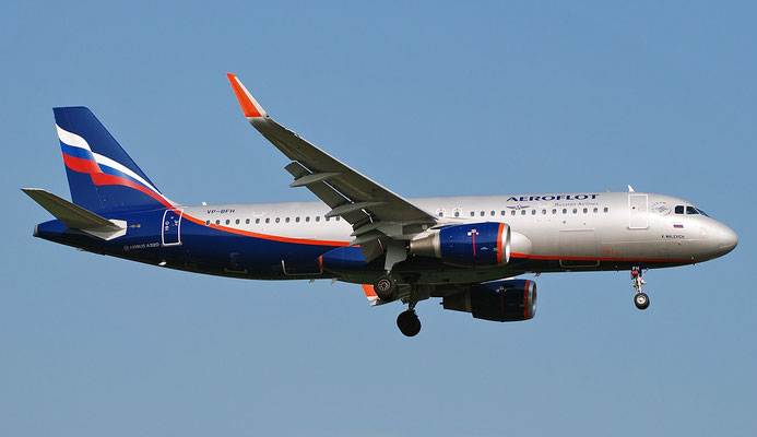 VP-BFH A320-214 7653 Aeroflot