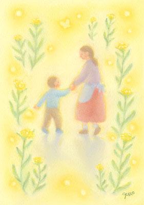 母子草の思い出(2020.個展.春のこみち)