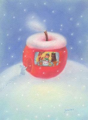リンゴの家のクリスマス