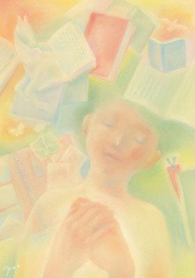 学び(2019.雑誌・イラストノート  第20回ノート展大賞受賞作品)