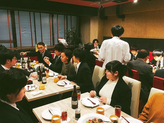 仙台事業所 新年会の様子