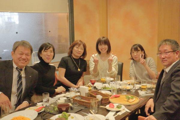 大阪事業所 新年会の様子