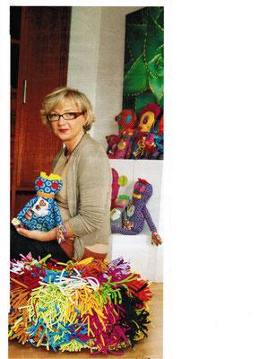 Miss Gana & Petra Lochbaum mit Shwe Shwe Poppis Puppen