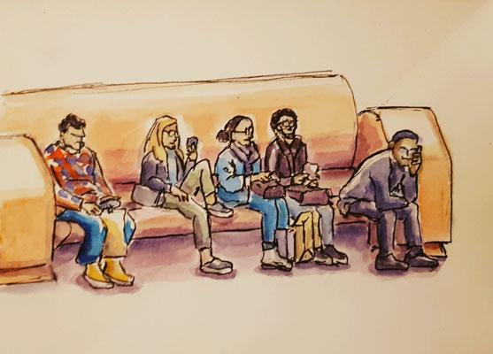 Unrban Sketching in Den Haag