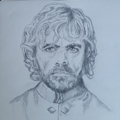 Tyrion Lannister  - Game of Thrones (Bleistift auf Papier)