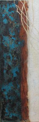 50x150x2cm auf Leinwand -goldenfloat- 950