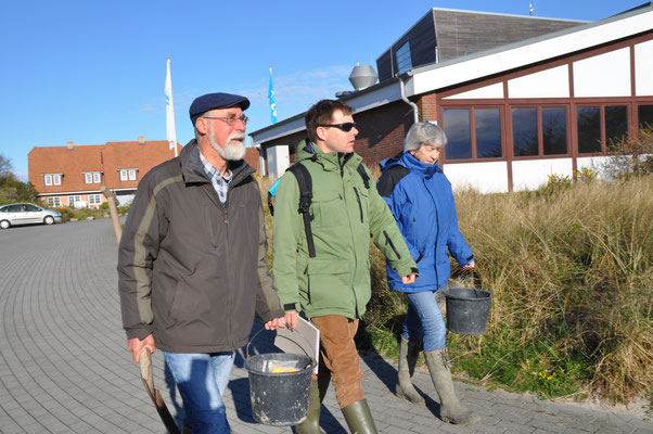 Auf Sylt mit Karsten Reise und Dagmar Lackschewitz von der Wattenmeer-Station Sylt vom Alfred-Wegener- Institut, Helmholtz-Zentrum für Polar- and Meeresforschung.