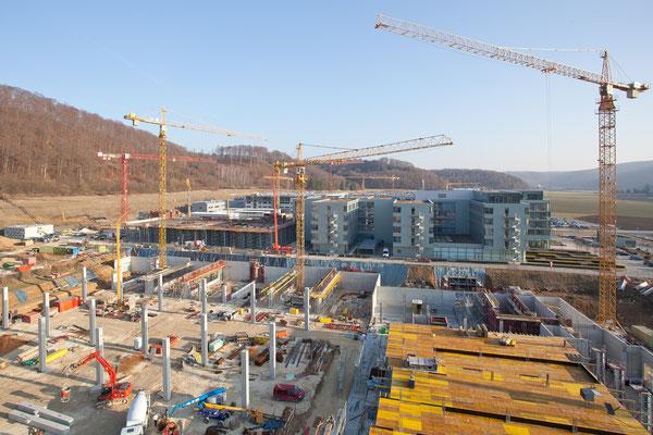 Zeiss Oberkochen – Neubau Hallen SMT