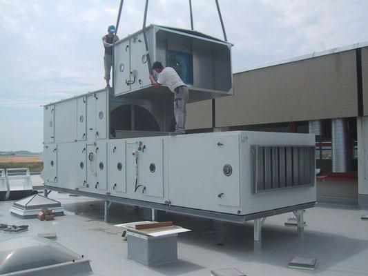 Dach-Klimagerät