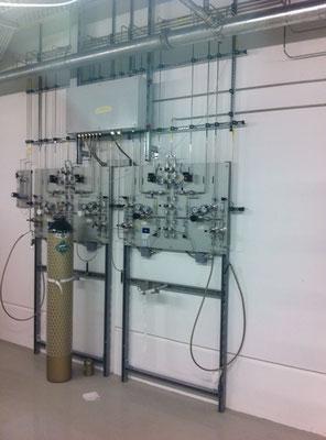 Gasstation Reinraum