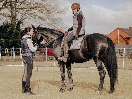 Unterricht bei Ariane Döring, Foto: Charlotte Gläser