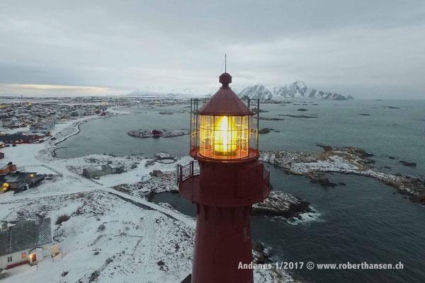 Der Leuchtturm von Andenes - 1/2017 © Robert Hansen