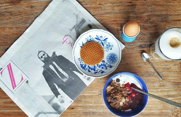 "...süßes Sonntagsfrühstück mit neuem Lieblingsressort ""Z""..."